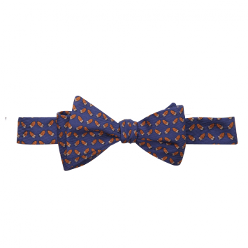 Wm. Lamb & Son - Quail Feather Bow - Navy
